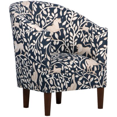 World Menagerie Gaines Fabric Tub Arm Chair