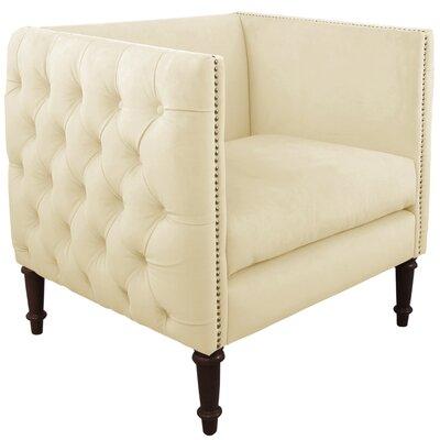 Skyline Furniture Aurora Fabric Nail Button Arm Chair