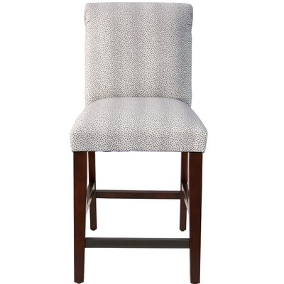 Darby Home Co Cynthia Faux Fur Upholstered Bar S..