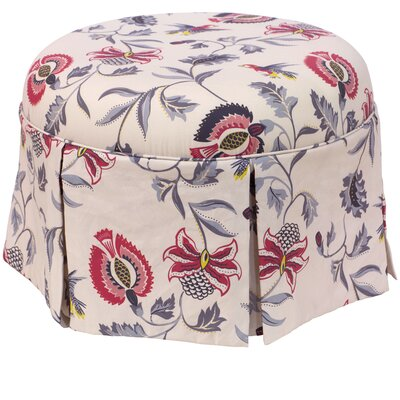 Darby Home Co Donoghue Round Skirted Otto..