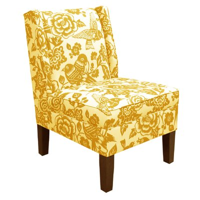 Skyline Furniture Wingback Canary Side Chair