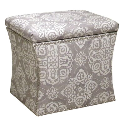 Skyline Furniture Nail Button Jakarta Storage Ottoman Image