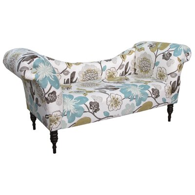 Skyline Furniture Gorgeous Roll Arm Chaise Lounge