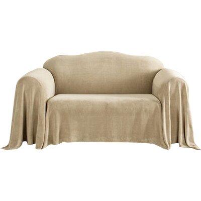 Sure Fit Plush Throw Sofa Slipcover Reviews Wayfair