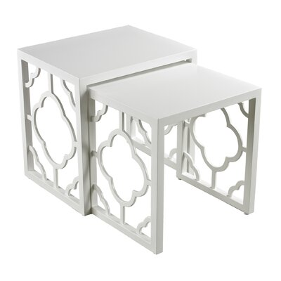 Sterling Industries 2 Piece Nesting Table Set