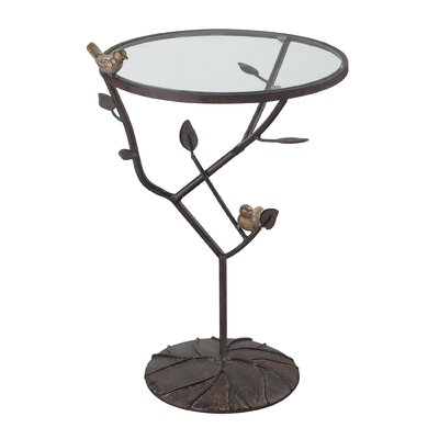 Sterling Industries Kimberly Birds On A Branch Accent Table