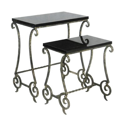 Sterling Industries 2 Piece Nesting Tables