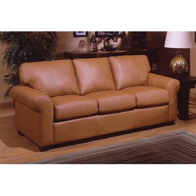 Omnia Leather West Point Queen Leather Sleeper Living Room Collection