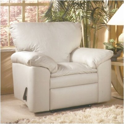 Omnia Leather El Dorado Leather Recliner