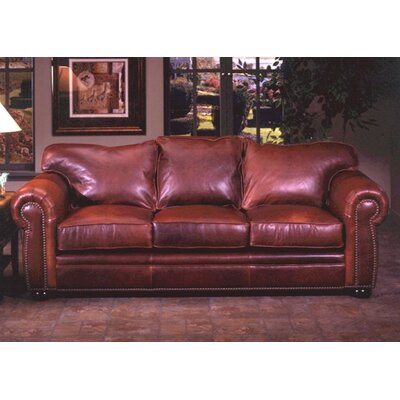 Omnia Leather Monte Carlo Leather Queen Sleeper..