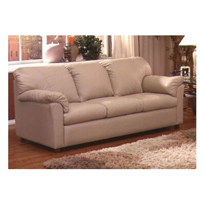 Omnia Leather Tahoe Leather Sleeper Sofa