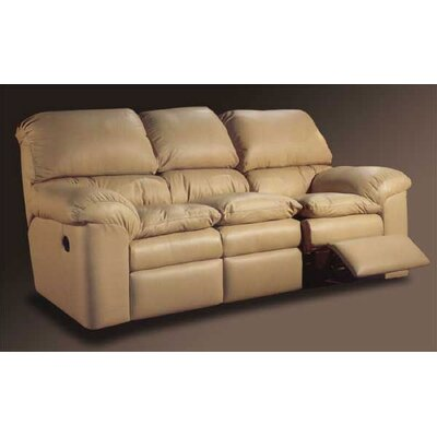 Omnia Leather Catera Reclining Sofa Living Room Set