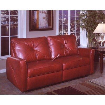 Omnia Leather Bahama Leather Reclining Sofa Reviews Wayfair