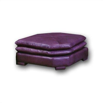 Omnia Leather Fargo Leather Ottoman