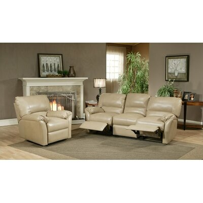 Omnia Leather Mandalay Leather Reclining Sofa