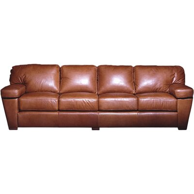 Omnia Leather Prescott Leather Sofa