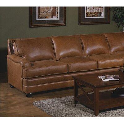 Omnia Leather Pantera Sleeper Sectional