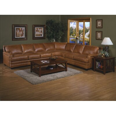 Omnia Leather Pantera Sleeper Sectional
