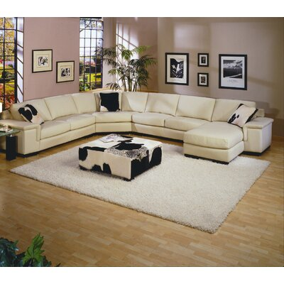 Omnia Leather Mercedes Sectional