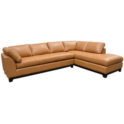 Omnia Leather Villa Sectional