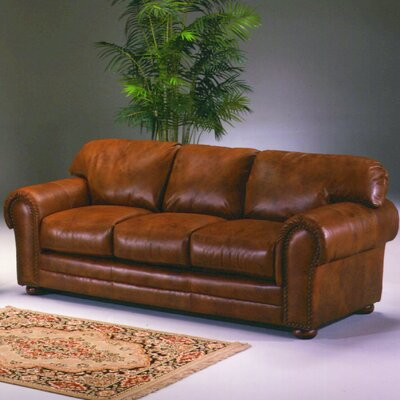 Omnia Leather Winchester Chyenne Leather Sleeper Sofa