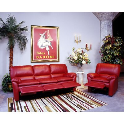 Omnia Leather Luxor Leather Living Room Set