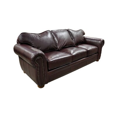 Omnia Leather Monte Carlo Leather Sofa