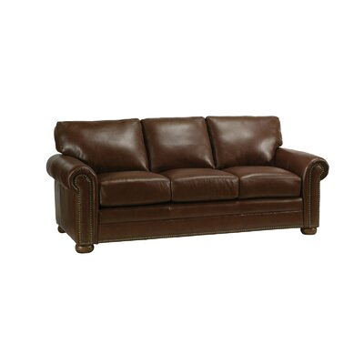 Omnia Leather Savannah Leather Sofa