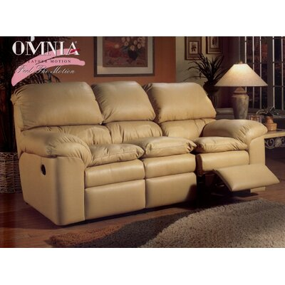 Omnia Leather Cordova Leather Reclining Sofa