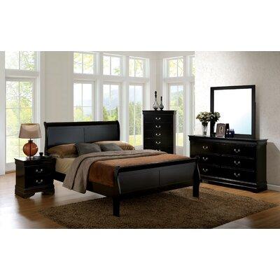 Darby Home Co Alvarez Sleigh Customizable Bedroom Set