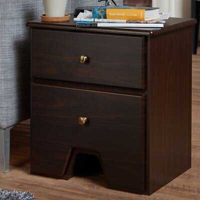 Red Barrel Studio Thunderhead 2 Drawer End Table
