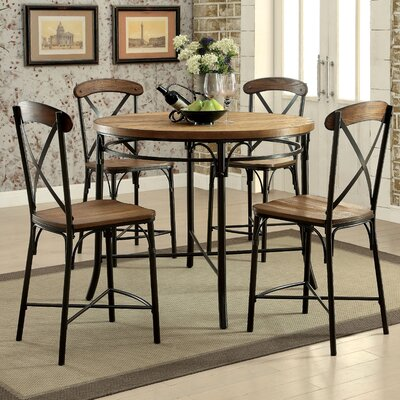 Darby Home Co Neeley 5 Pieces Dining Set