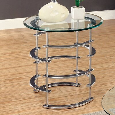 Enitial Lab Morran End Table