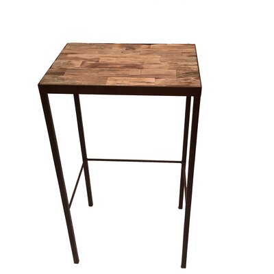 Eangee Home Design Driftwood End Table