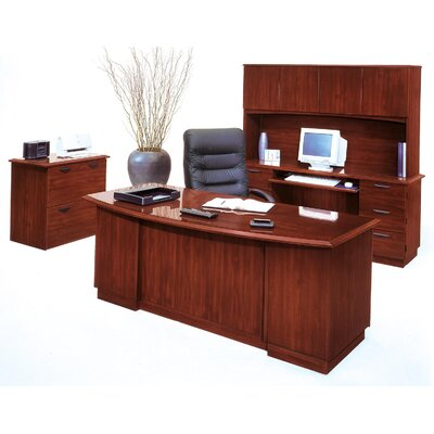 DMI Office Furniture Belmont 4-Piece Standard Desk Office Suite