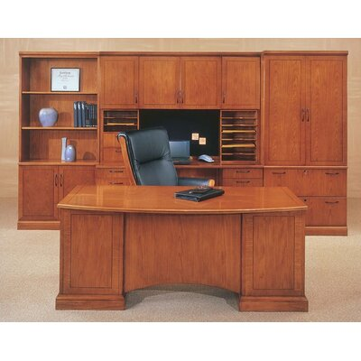 DMI Office Furniture Belmont 5-Piece Standard Desk Office Suite