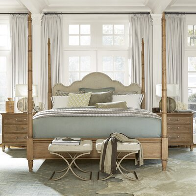 Universal Furniture Moderne Muse Four Poster Cus..