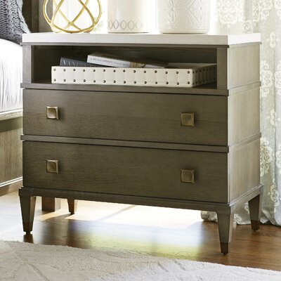 Universal Furniture Playlist Two Drawer Nightstand