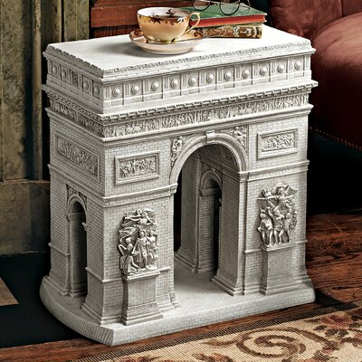 Design Toscano Arc De Triomphe Sculptural End Table Image