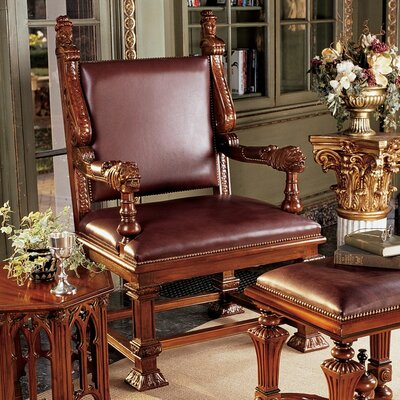 Design Toscano Lord Cumberland's Throne Arm Chairs