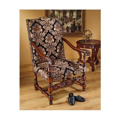 Design Toscano Milton Manor Drawing Room Arm Chair