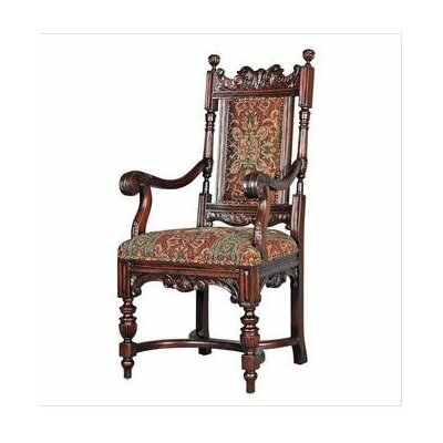 Design Toscano Grand Classic Edwardian Arm Chair