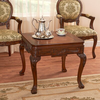 Design Toscano Scarborough News End Table