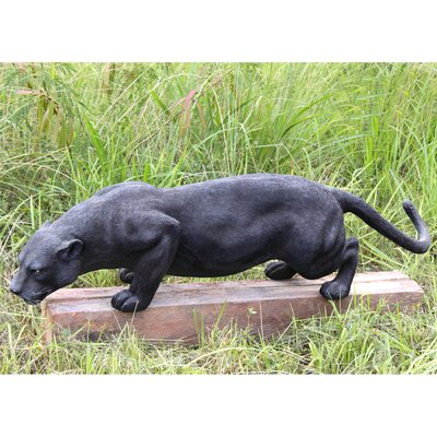 Design toscano grande panther statue reviews wayfair - Grande statue design ...