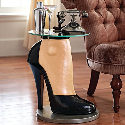 Design Toscano Stilettos Anyone Sculptural End Table