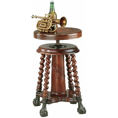 Design Toscano The Gidley and Doyle Piano End Table