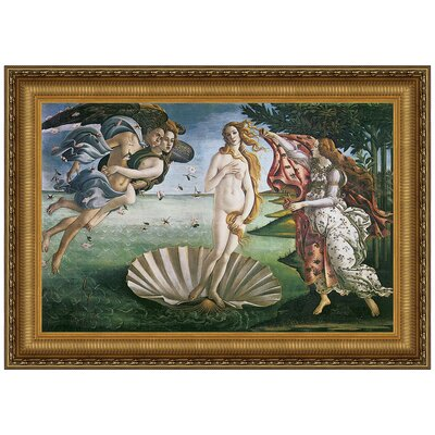 Design Toscano The Birth Of Venus 1485 By Sandro