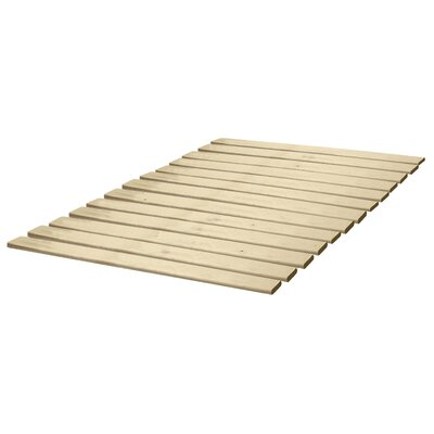 Classic Brands Attached Solid Wood Bed Support Slats - Bunkie Board