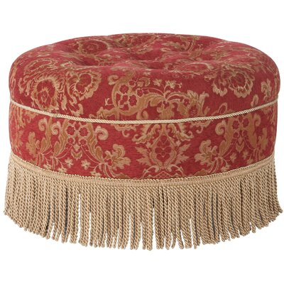 Jennifer Taylor Yolanda Decorative Round Ottoman
