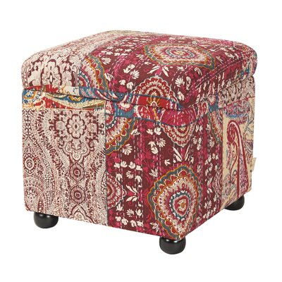 Bungalow Rose Vrabel Storage Ottoman
